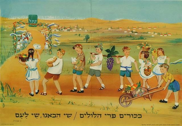 כרזת הקרן הקיימת לישראל: ביכורים